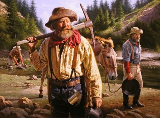 Золотоискателям и горнякам штата MONTANA джинсовая одежда пришлась по душе.