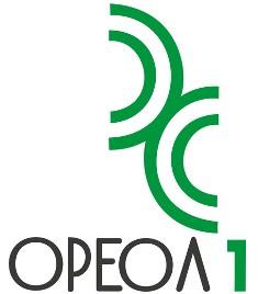 """Логотип официального дистрибьютера немецкой фирмы MONTANA в России - закрытое акционерное общество """"Ореол-1""""."""
