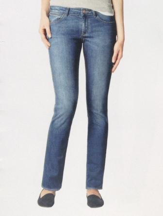 Джинсы женские Wrangler Molly Straight W26F .