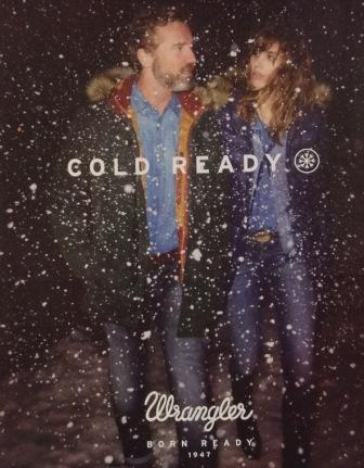 Wrangler DENIM PERFORMANCE Gold Ready.