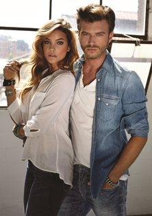 Barbara Palvin - венгерская топ-модель и Kivanc Tatlitug - турецкий киноактер, фотомодель активно участвуют в рекламных кампаниях Mavi Jeans.