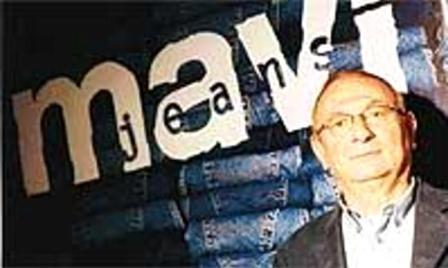 """Основатель компании """"Mavi"""" Sait Akarlilar предлагает в 2003 году интервью для американской газеты The New York Times."""