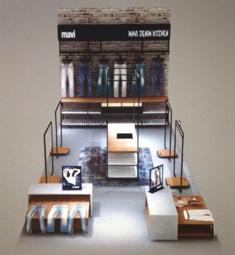 Новая концепция розничных продаж Mavi Denim Kitchen в магазинах Mavi.