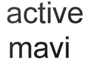 Торговая марка aktive mavi (активный синий) регистрируется для компании Mavi Giyim San. Ve Tic. A.S. в Турции 23.10.1997 года под №96/015154 для товаров класса:18,24,25.