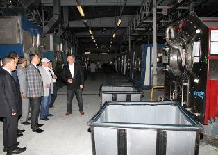 Фабрика в Cerkezkoy располагает ёмкими, просторными цехами и производственными помещениями, которые оснащены современным промышленным оборудованием.