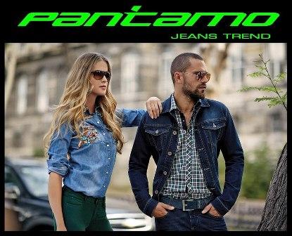 Джинсовая одежда торговой марки PANTAMO в магазинах Джинсовый стиль.